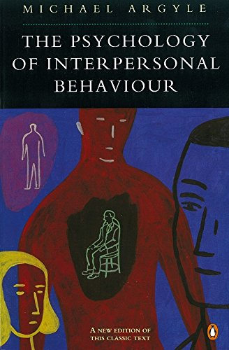 9780140172744: The Psychology of Interpersonal Behaviour (Penguin Psychology)