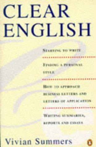9780140173468: Clear English