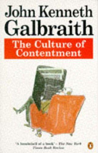 9780140173666: The Culture of Contentment (Penguin economics)