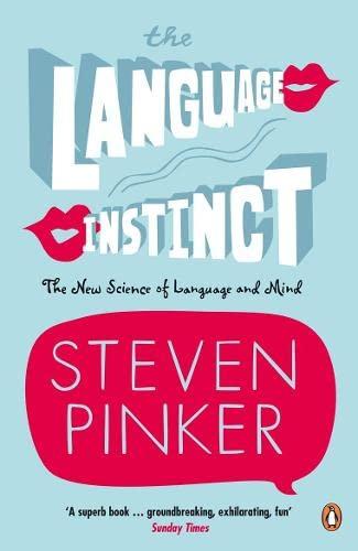 9780140175295: The Language Instinct: How the Mind Creates Language (Penguin Science)