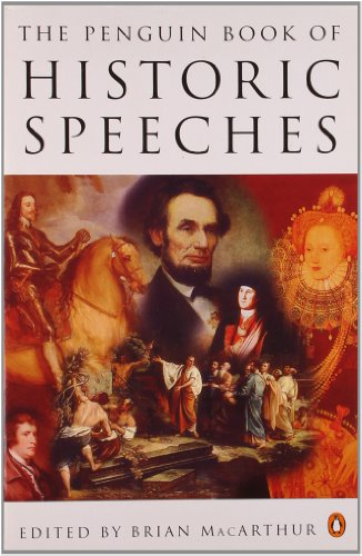 9780140176193: The Penguin Book of Historic Speeches