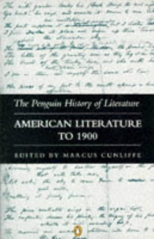 9780140177589: The Penguin History of Literature: American Literature to 1900 v. 8