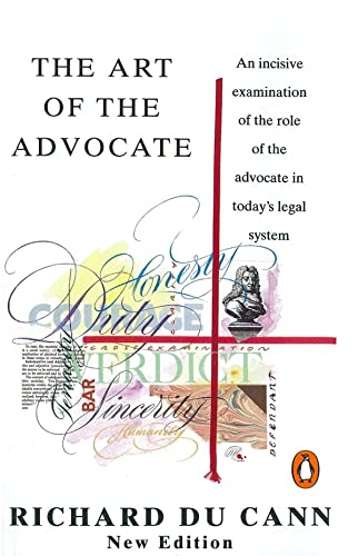 9780140179316: The Art of the Advocate (Penguin Law)
