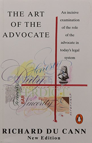 9780140179316: Art of the Advocate (Penguin Law)