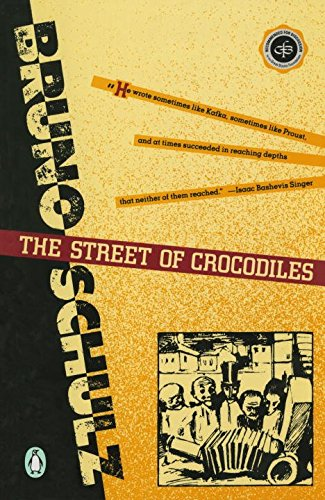 bruno schulz street crocodiles essay The predominant view of bruno schulz is that of an introvert  the street of crocodiles, published originally as a collection in december 1933 (with a date of 1934), coalesced as a series  the following frequently quoted passage from schulz's essay the mythicization of reality brings into clearer view.