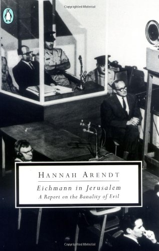 9780140187656: Eichmann in Jerusalem: A Report on the Banality of Evil