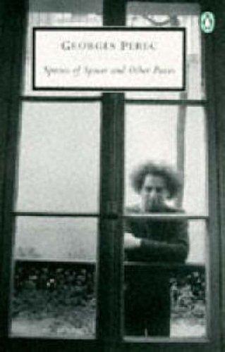 9780140189865: Species of Spaces and Other Pieces: Georges Perec (Penguin Twentieth Century Classics)
