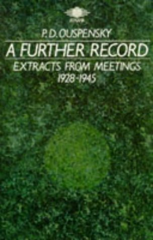 9780140190236: A Further Record (Arkana)