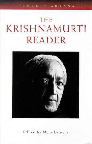 9780140192445: The Krishnamurti Reader: No. 1 (Arkana)