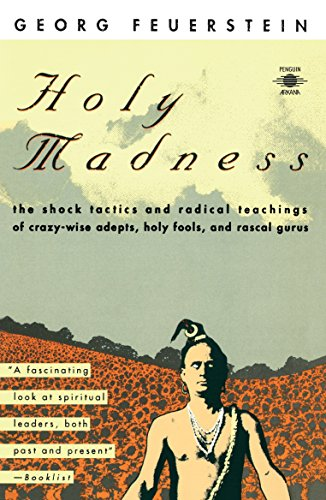 9780140193701: Holy Madness: The Shock Tactics and Radical Teachings of Crazy-Wise Adepts, Holy Fools and Rascal Gurus