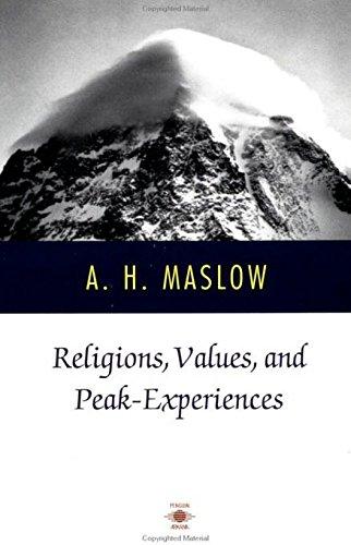 9780140194876: Religions, Values, and Peak-Experiences (Compass)