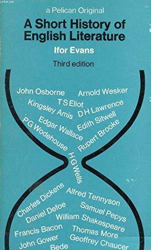 9780140200720: A Short History Of English Literature