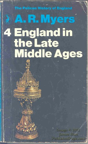 9780140202342: England in the Late Middle Ages (Pelican History of England)