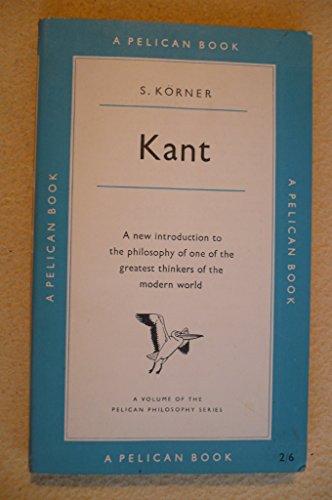 9780140203387: Kant (Pelican)