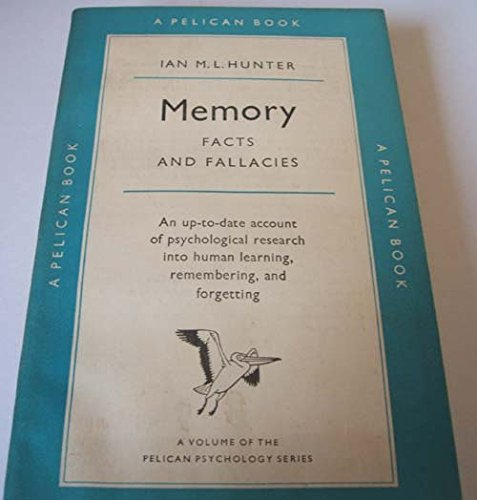 9780140204056: Memory (Pelican)