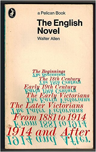 9780140204353: The English Novel