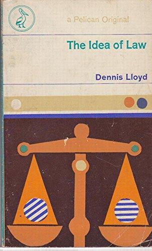 9780140206883: The Idea of Law (Penguin law)
