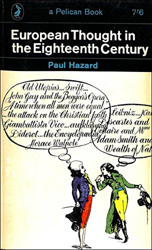 9780140207521: European Thought in the Eighteenth Century
