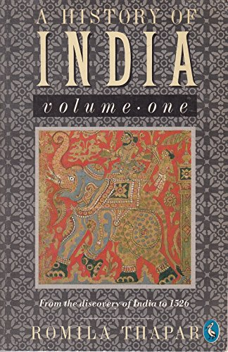 9780140207699: A History of India, Vol. One