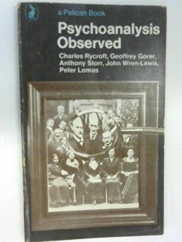 9780140209372: Psychoanalysis Observed