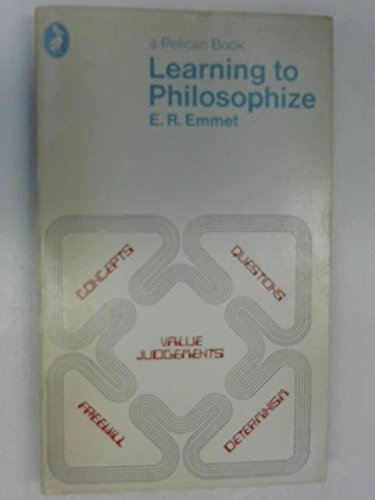 9780140209433: Learning to Philosophize (Pelican S.)