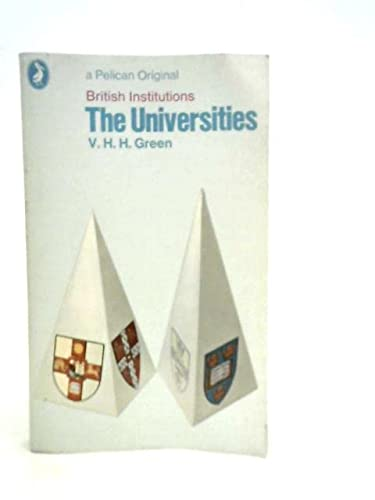 9780140209624: The Universities (British Institutions)
