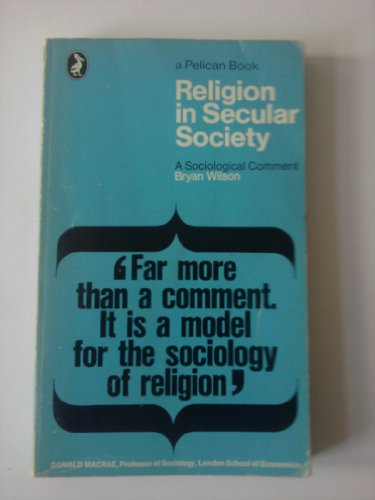 9780140210125: Religion in Secular Society (Pelican)