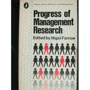9780140210286: Progress of Management Research (Pelican Library of Business & Management)