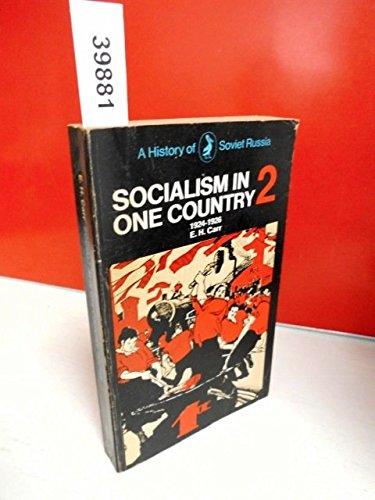 A History Of Soviet Russia. Socialism In: Carr, Edward Hallett