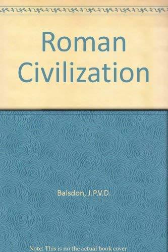 9780140210767: Roman Civilization (Pelican)