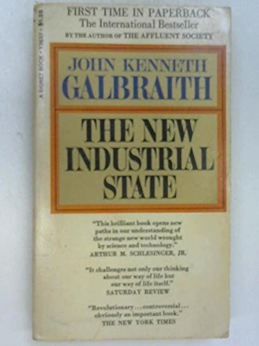 9780140210828: The New Industrial State