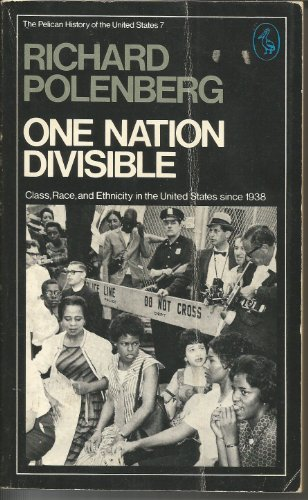 9780140212464: One Nation Divisible: Class, Race and Ethnicity in the United States Since 1938 (Pelican)