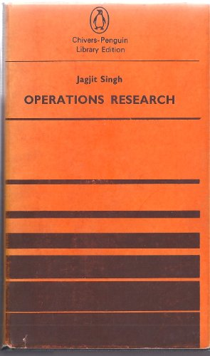 9780140212792: Operations Research (Pelican)