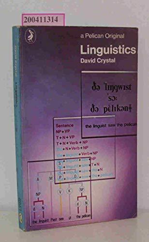 9780140213324: Linguistics