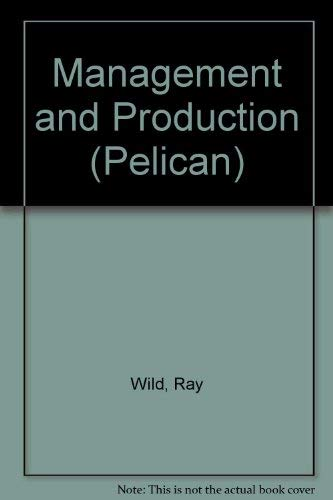 9780140214185: Management and production (Pelican library of business and management)
