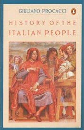 9780140215212: History of the Italian People