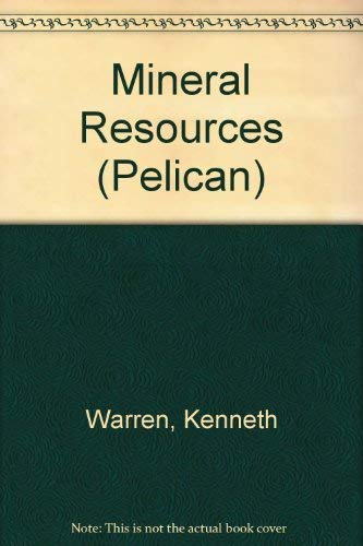 9780140215830: Mineral Resources (Pelican)