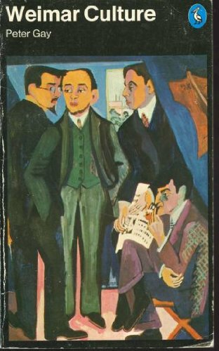 9780140217216: Weimar Culture: The Outsider as Insider (Pelican)