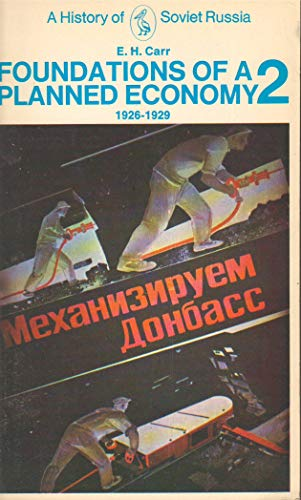 9780140219074: A History of Soviet Russia: Foundations of a Planned Economy 1926-1929, Vol. 2