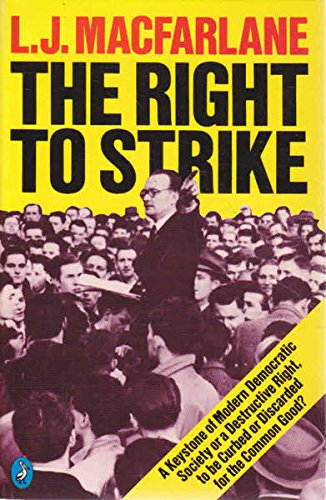 9780140220728: The Right to Strike (Pelican)
