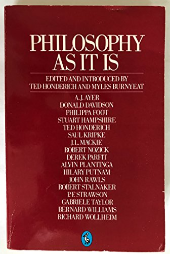 9780140221367: Philosophy as It Is (Pelican)