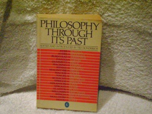 9780140221916: Philosophy Through Its Past (Pelican)