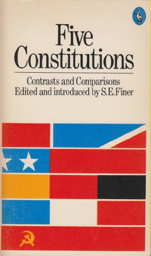 9780140222036: Five Constitutions: Contrasts and Comparisons (Pelican)