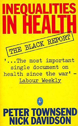 9780140224207: Inequalities in Health: Black Report (Pelican)