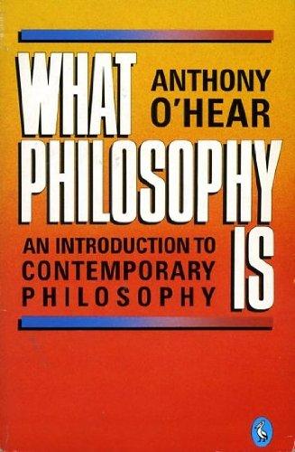 9780140225105: What Philosophy Is (Pelican)