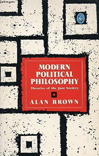 9780140225280: Modern political philosophy. theories of the just society