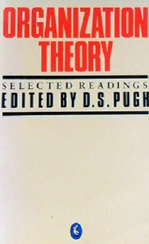 9780140226027: Organization Theory: Selected Readings (Pelican)