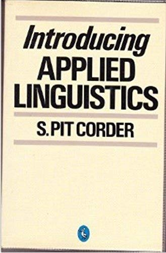 9780140226041: Introducing Applied Linguistics (Pelican)