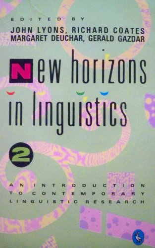 9780140226126: New Horizons in Linguistics: v. 2 (Pelican)