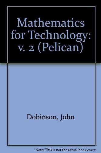 9780140226331: Mathematics for Technology: v. 2 (Pelican)